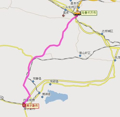 自驾地图:   第九天:塔什库尔干---喀什